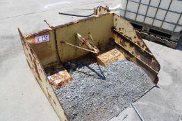 Scraper Pan For Forklift