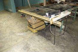 Power Matic Table Saw Model 2000