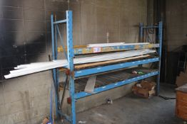 """(1) Section Pallet Racking, 84"""" x 24"""" x 96"""""""