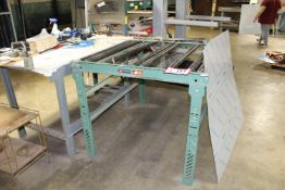 """(1) Section of Roller Conveyor, 36"""" x 48"""""""