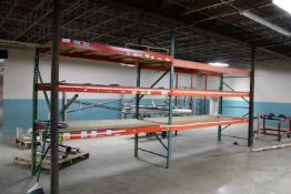 """(2) Sections of Pallet Racking - (1) 12' x 42""""x 96"""" and (1) 96"""" x 42"""" x 96"""""""