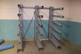 (4) Heavy Duty Metal Storage Racks