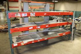 """(1) Section Pallet Racking -10' x 24"""" x 60"""""""