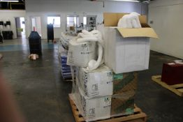 Pallet of Boxes of Poly Sock 3-DX48L