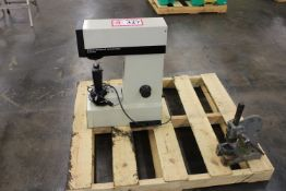 Wilson/Rockwell Series 500 Hardness Tester and a Small Mini Arbor Press