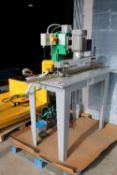 Adwood Model MV23-P Single Boring Machine Press