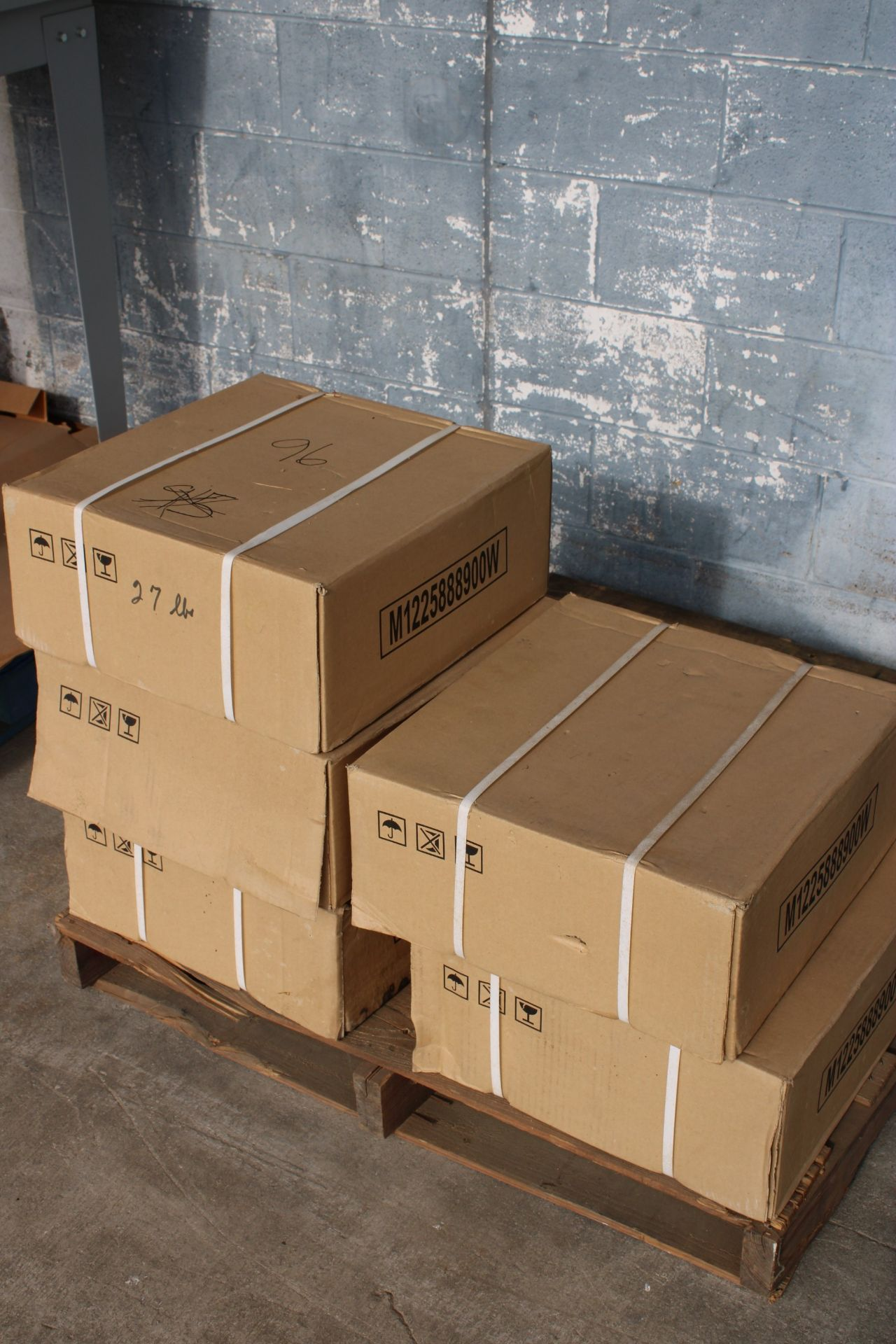 """Advance Packaging Arch Carton Strapper, 40""""- 42"""" Opening, Used, Ready to wire and use with table - Image 3 of 3"""
