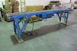 New London Engineering 12ft Power Conveyor, 230 v 3 Phase, New, Used less than 100 hours. http://