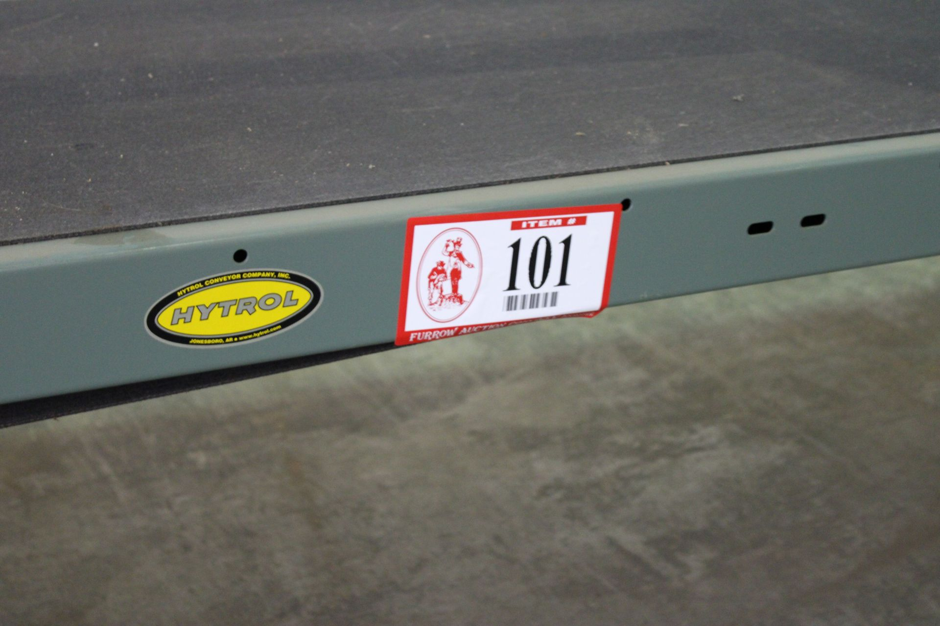 Hytrol Model TA 37ft Power Conveyor, 230 v 3 Phase, New, Used less than 100 hours, Variable speed to - Image 2 of 5