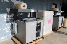 "Eaton Sergeant Vacumaster w/ 24 Shrink Wrap Rolls, 230v 3 Phase, 24"" x 30"" bed that is perfect for"