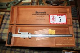 Starrett Flush Reading Burner Height Gauge, 20""