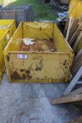 """Stackable Metal Crate, 87"""" x 46"""" x 28.5"""""""