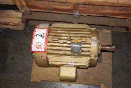 Baldor 25hp 230 460 Volt Electric Motor, 3520 RPM, 256T Frame Size
