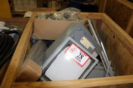 Contents of Crate: Electrical Components, Cabinets, Boxes, Etc.