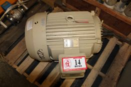 Toshiba 40hp 400 Volt Electric Motor