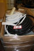 Contents of Crate: Flexible Wire Conduit, Cabinet Pieces, Etc.