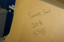 Contents of (2) Pallets: Furnace Seals
