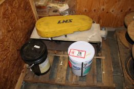 (2) 5 Gallon Buckets of Grease & (2) Safety Shields/Covers