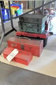 Lot-Hand Tote Tool Boxes Under (1) Table