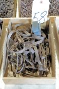 """Lot-1/2"""" Wide Sanding Belts in (1) Box"""