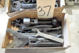 Lot-Spanner and Grinder Wrenches in (1) Box