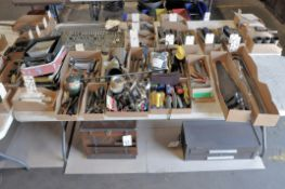 Lot-Asst'd Hand Tools in (1) Boxes