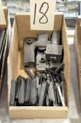 Lot-Adjustable Hand Stamp Tools and Stamps in (1) Box