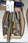Lot-Brass and Slide Tools in (1) Box
