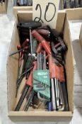 Lot-Allen Wrench Sets in (1) Box