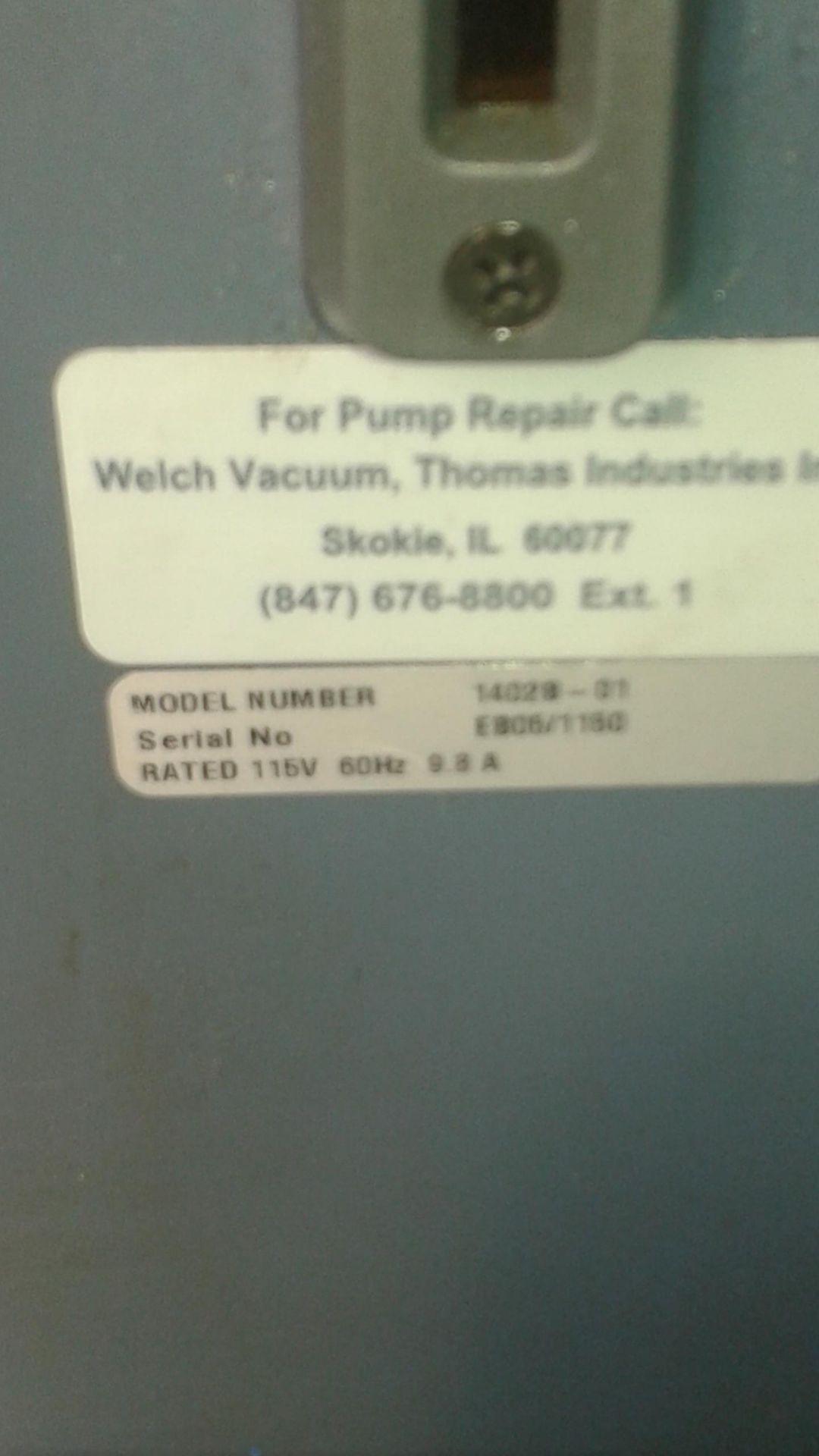 Welch Model 1402 Duo-Seal Vacuum Pump - LOCATION - LONDON, ONTARIO - Image 3 of 3