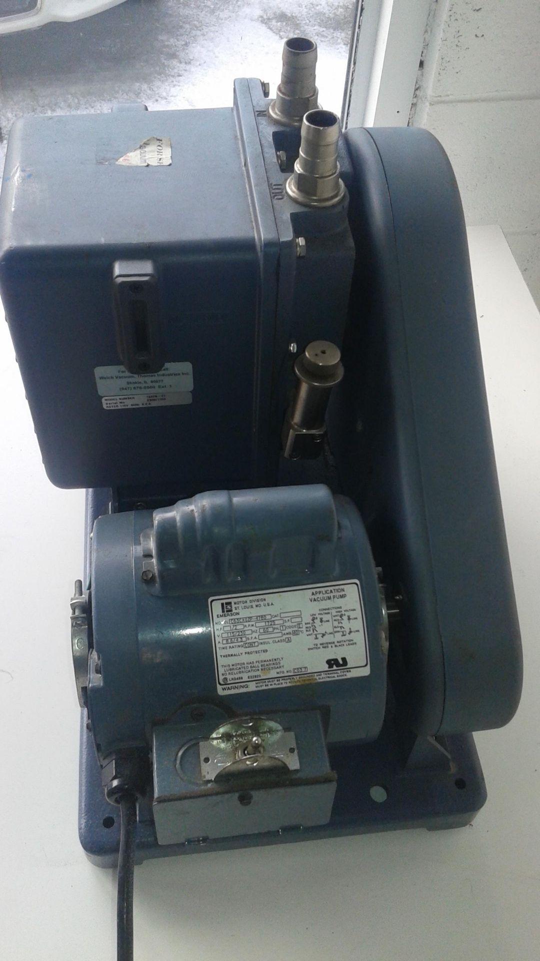 Welch Model 1402 Duo-Seal Vacuum Pump - LOCATION - LONDON, ONTARIO - Image 2 of 3