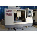 HARDINGE VMC700 CONQUEST CNC VERTICAL MACHINING CENTER FANUC 18M CONTROL -LOCATION, MONTREAL, QUEBEC