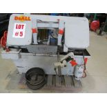 DoALL BAND SAW, HORIZONTAL, MODEL C-12, S/N 114-58232, 12'' X 12'' - LOCATION, MONTREAL, QUEBEC