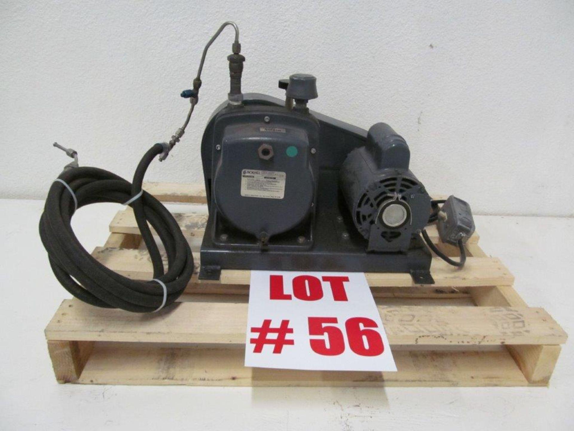 Lot 56 - BOEKEL HYVAC VACUUM PUMP, CAT#91506, S/N 05239008, 115V/230V/1PH/60C. 1/2HP - LOCATION,