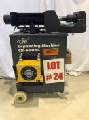 (NEW) CRL EXPANDING MACHINE, MODEL CR-6005A, S/N 14042, EXPANDS/REDUCES 2.5''