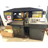HYD-MECH HORIZONTAL BANDSAW, MODEL S-20A, 13'' X 18'', AUTOMATIC, REPLACEMENT MOTOR'