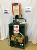 GATES HYDRAULIC HOSE CRIMPER, MODEL PC-707, S/N 9601903, WITH DIES - LOCATION, MONTREAL, QUEBEC