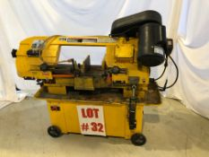 POWER FIST HORIZONTAL BANDSAW, MODEL 712, S/N 9082255, 7'' X 12'' - LOCATION, MONTREAL, QUEBEC