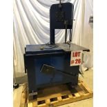 ROLL-OUT VERTICAL BANDSAW, 8'' TRAVEL - LOCATION, MONTREAL, QUEBEC