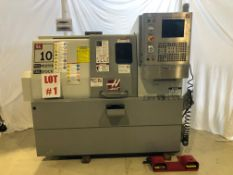 HAAS CNC LATHE, MODEL SL-10, 11'' X 14'', S/N 3074288 - LOCATION, MONTREAL, QUEBEC