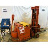 CLARK ELECTRIC WALKING STAKER, MODEL 15TTF, S/N TTF25EC175, 1500LB W/CHARGER