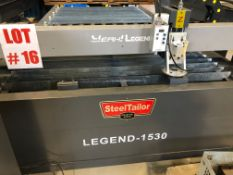 (NEW) STEEL TAYLOR CNC PLASMA TABLE, MODEL LEGEND B511, 5' X 10' (TORCH NOT INCLUDED)