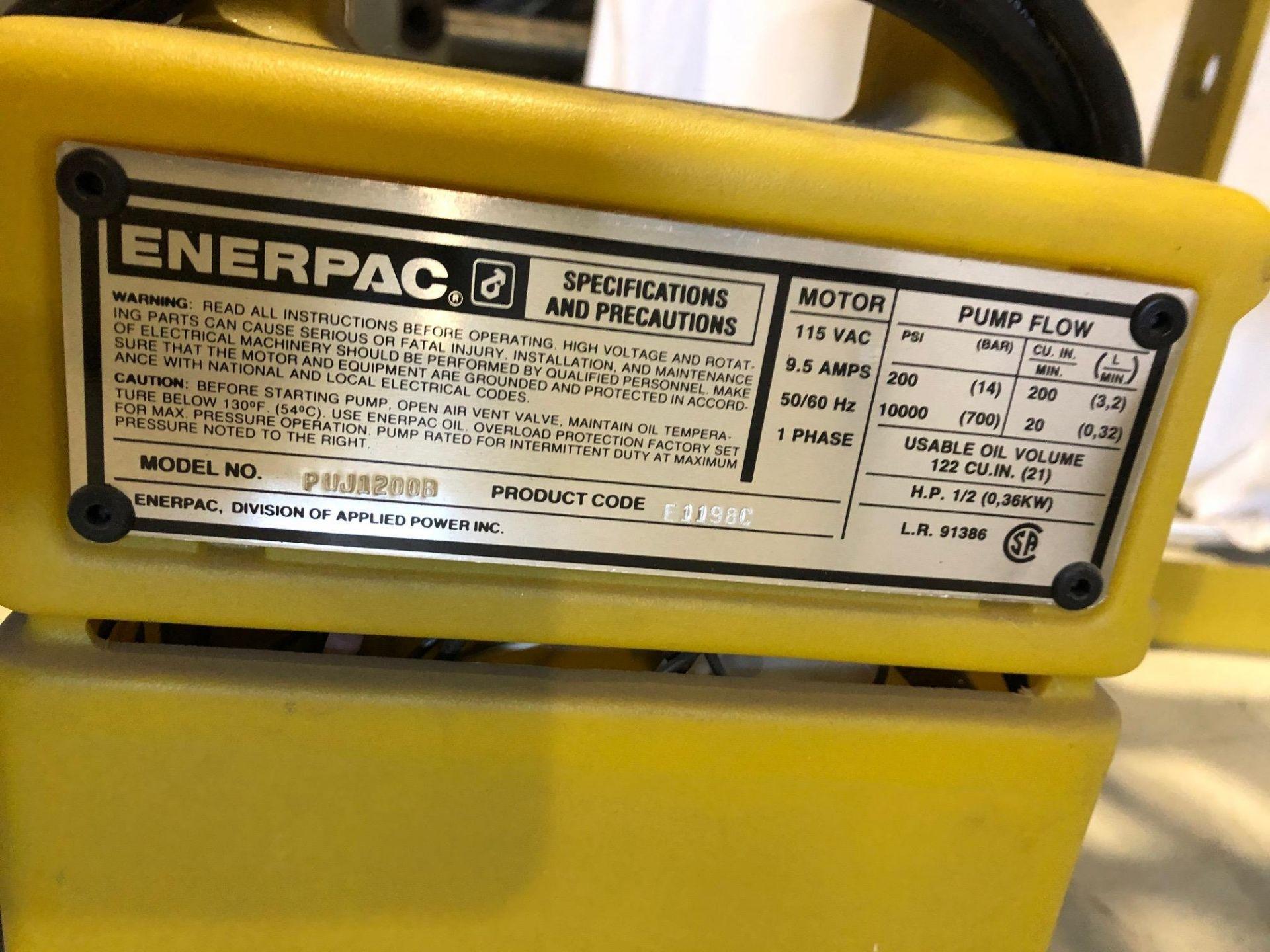 ENERPAC SHOP PRESS, MODEL C215900, S/N E119C, 15 TON - LOCATION, MONTREAL, QUEBEC - Image 4 of 5
