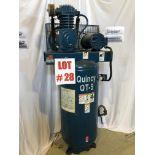 QUINCY COMPRESSOR, MODEL QT-5, S/N 5094298, 5HP - LOCATION, MONTREAL, QUEBEC