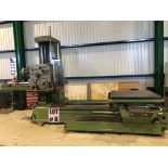 TOS BORING MILL (HORZ), MODEL W100A, S/N 04-88, 49'' X 49'' TABLE - LOCATION, MONTREAL, QUEBEC