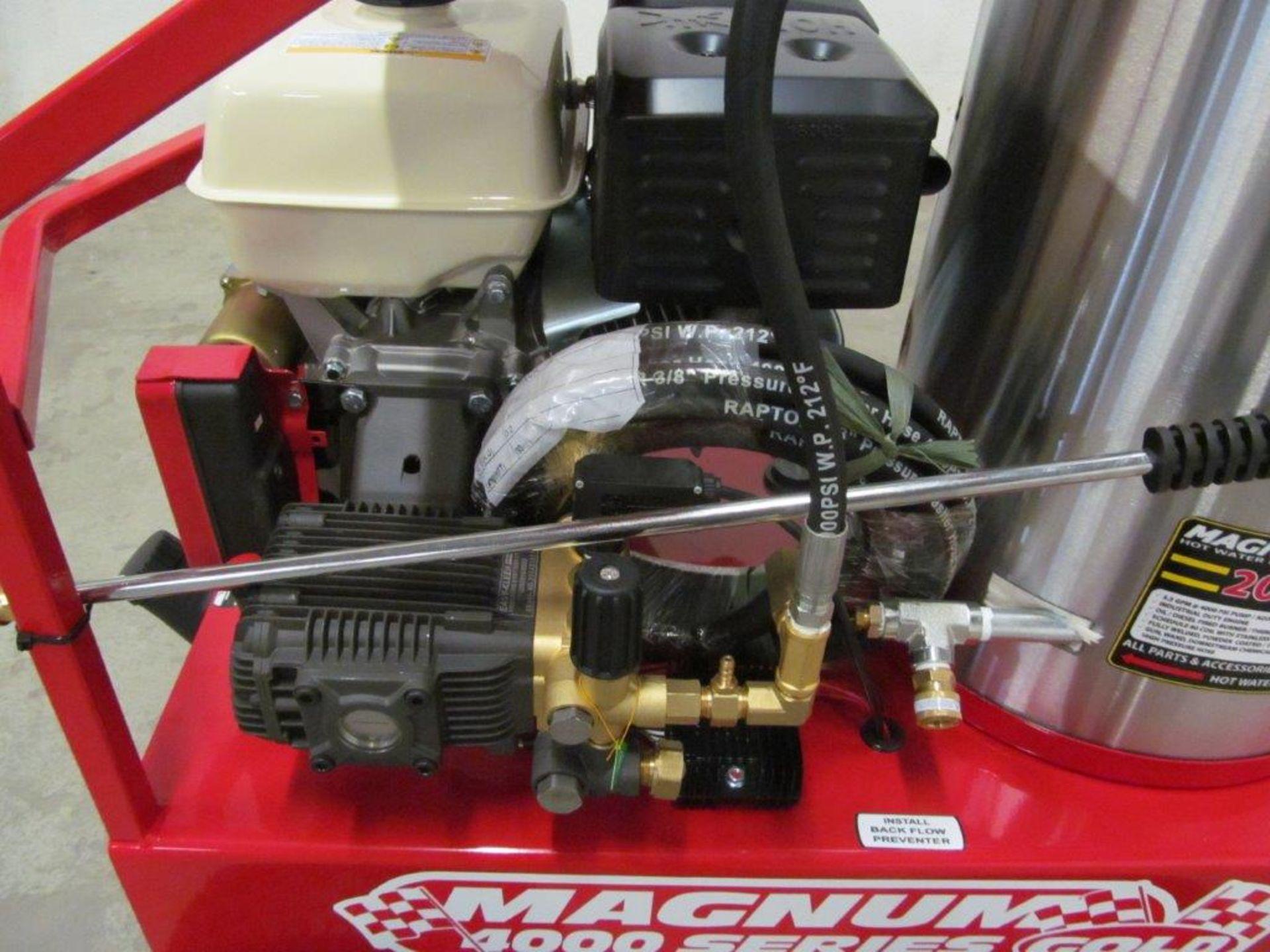 (NEW) EASY-KLEEN HOT WATER PRESSURE WASHER, MDL. MAGNUM GOLD, 15 HP ENGINE. DIESEL FIRED BURNER - Image 6 of 12