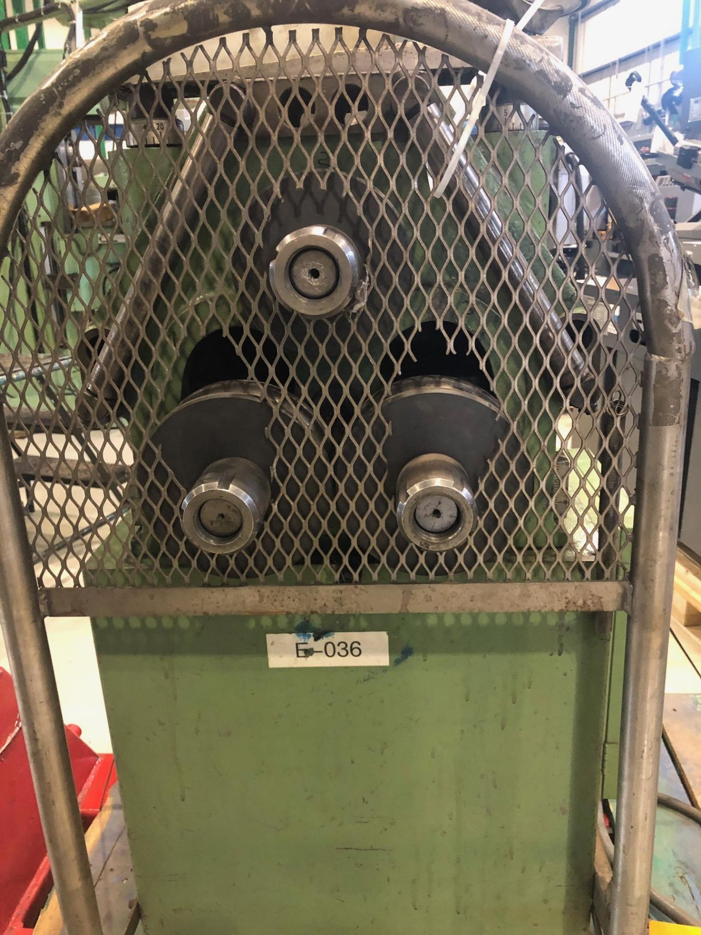 """COMAC ANGLE ROLL, MODEL 3001-PM, S/N 31642PM, 1 3/8""""-5/32"""" - Image 3 of 4"""