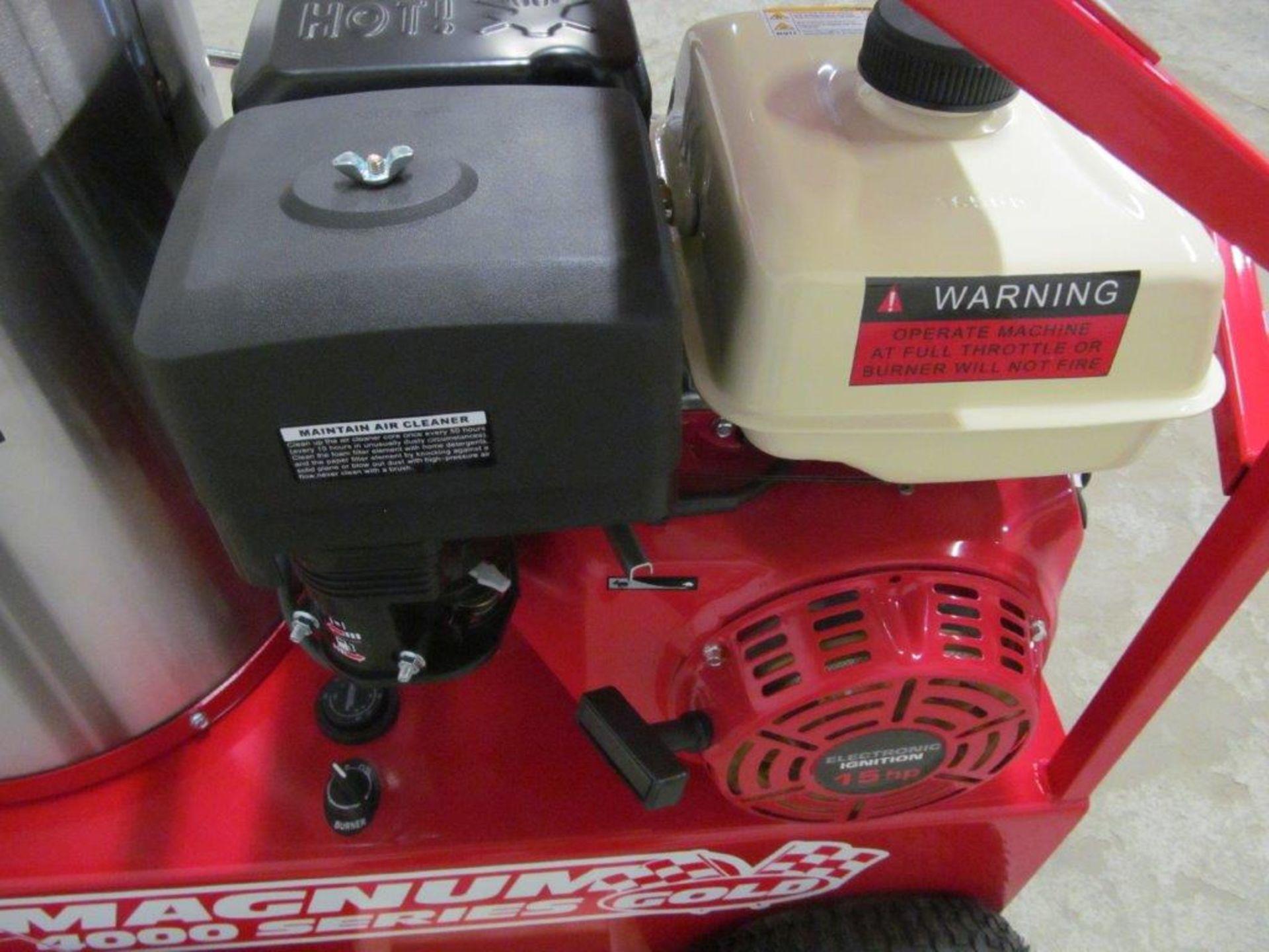 (NEW) EASY-KLEEN HOT WATER PRESSURE WASHER, MDL. MAGNUM GOLD, 15 HP ENGINE. DIESEL FIRED BURNER - Image 8 of 12