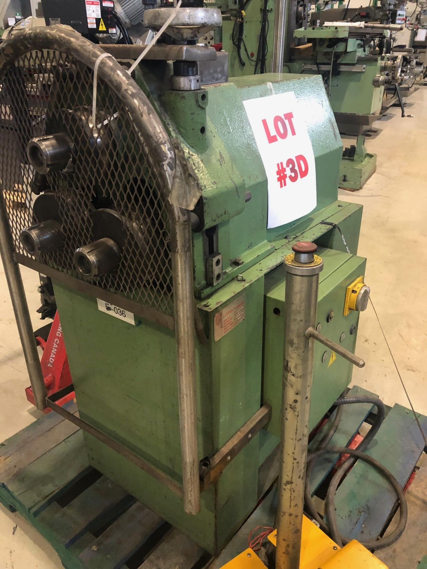 """COMAC ANGLE ROLL, MODEL 3001-PM, S/N 31642PM, 1 3/8""""-5/32"""" - Image 2 of 4"""