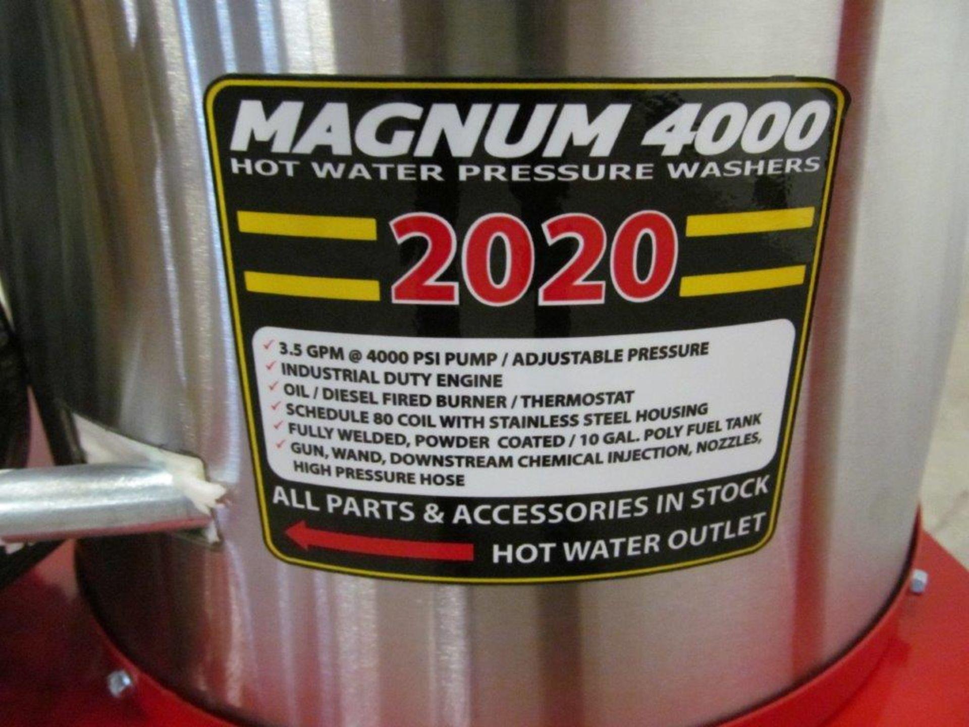 (NEW) EASY-KLEEN HOT WATER PRESSURE WASHER, MDL. MAGNUM GOLD, 15 HP ENGINE. DIESEL FIRED BURNER - Image 10 of 12